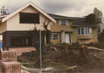 Two Houses Under Demolition