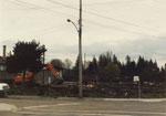 Construction site in 2000 block Marine Drive
