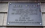 Klee Wyck Art Centre Dedication Sign