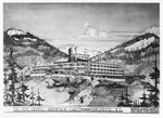 Sketch for Grouse Mountain Chalet
