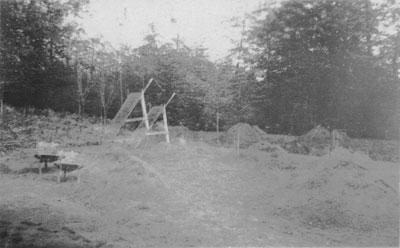 Memorial Arch Construction