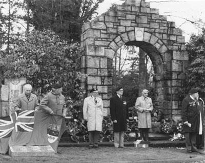 Second World War Plinths