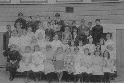 Class Photo North Vancouver School
