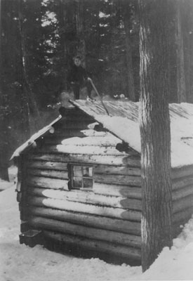 First Troop Scout Cabin