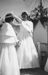 Crowning of May Queen Mary Griffiths