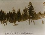 Ski camp on Hollyburn Ridge