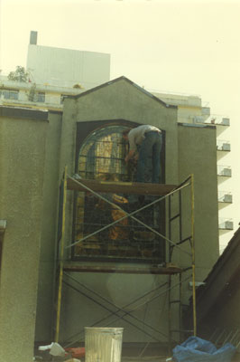 West Vancouver Memorial Library Stained Glass Repairs