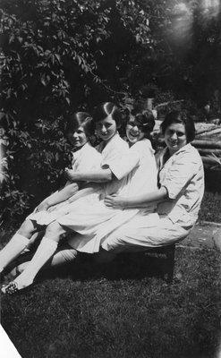 Portrait of 4 women