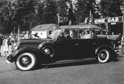 The Royal Visit Motorcade