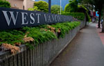 West Vancouver Police Sign