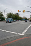 Intersection at Marine Drive & 16th Street