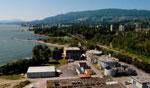 The Lions Gate Wastewater Treatment Plant