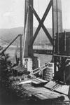 Construction of Lions Gate Bridge