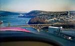 Aerial View of Iron Worker's Memorial Bridge