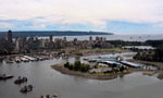 Aerial View of Vancouver Harbour