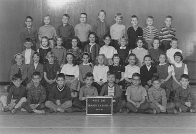 Mrs. Mould's Grade II & III Classes (1963-'64)