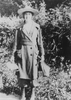 Portrait of Ethel Millard