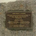 Commemorative Plaque at Ambleside Landing