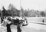 King George & Queen Elizabeth Motorcade
