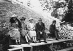 Portrait of Mrs McDougal, Bessie Reid, Robert Reid, & R.J. McDougal