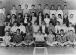 Grade 6 class at Ridgeview Elementary School with teacher Michael Dean