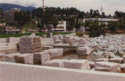 Ambleside Landing Fountain