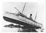 Princess May (ship) runs aground on Sentinel Rock in Lynn Canal (Alaska)