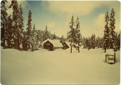Cabins on Hollyburn Mountain