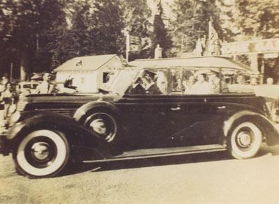 Royal visit of King George VII and Queen Elizabeth