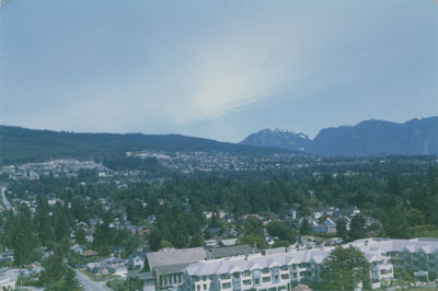 View of West Vancouver & North Shore
