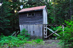 Snowmobile Shed on Hollyburn