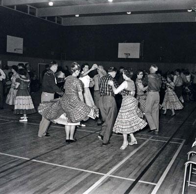 Square Dancing at Inglewood School