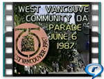 [West Vancouver Community Day Parade, 1987]