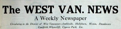 West Van. News