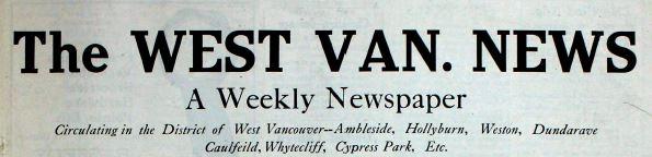 West Van. News