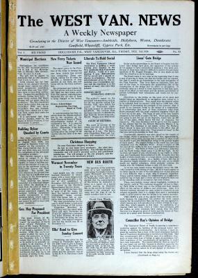 West Van. News (West Vancouver), 3 Dec 1926