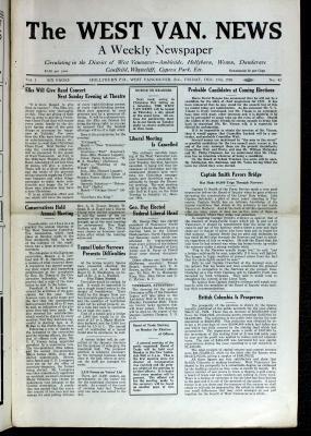 West Van. News (West Vancouver), 17 Dec 1926