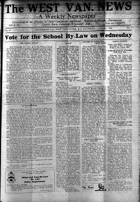 West Van. News (West Vancouver), 4 Jun 1936
