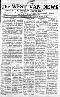 West Van. News (West Vancouver), 4 Jan 1940