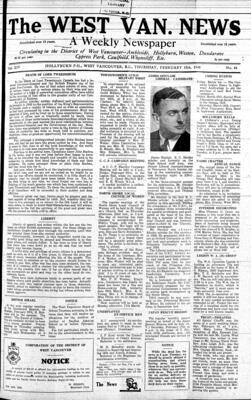 West Van. News (West Vancouver), 15 Feb 1940