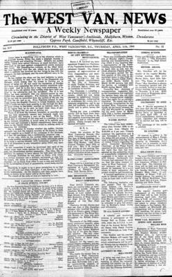 West Van. News (West Vancouver), 11 Apr 1940