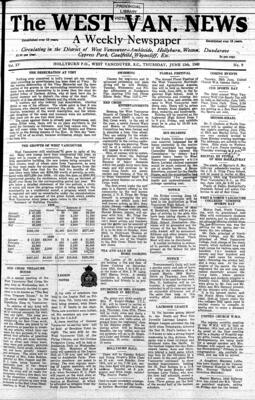 West Van. News (West Vancouver), 13 Jun 1940