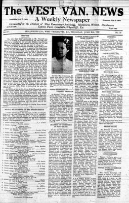 West Van. News (West Vancouver), 20 Jun 1940