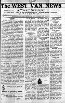 West Van. News (West Vancouver), 11 Jul 1940