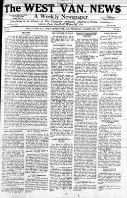 West Van. News (West Vancouver), 13 Mar 1941