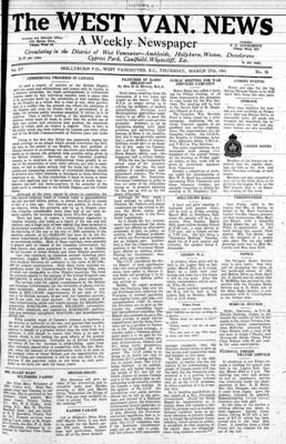 West Van. News (West Vancouver), 27 Mar 1941