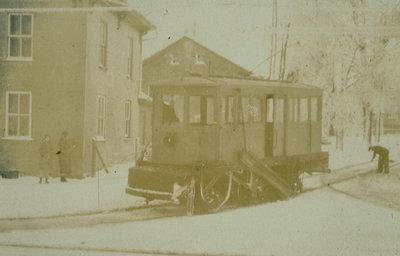 Street Railroad Snow Sweeper, Waterloo, Ontario