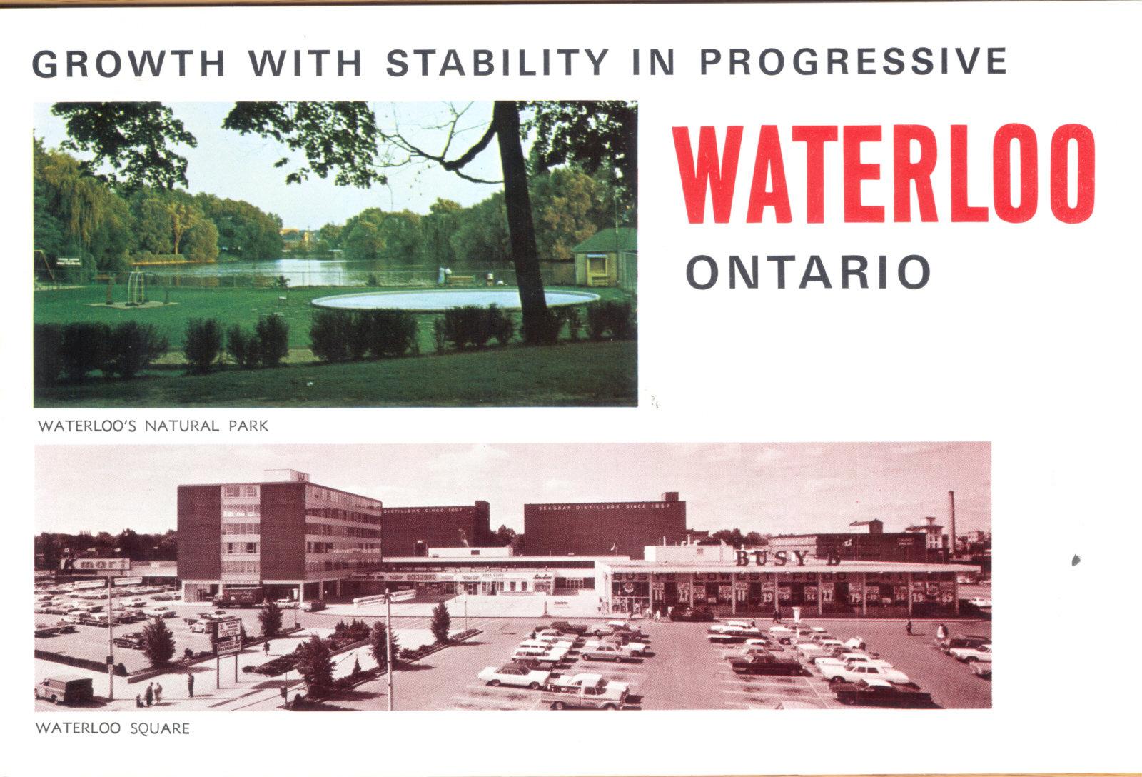 Promotional Brochure for Waterloo, Ontario