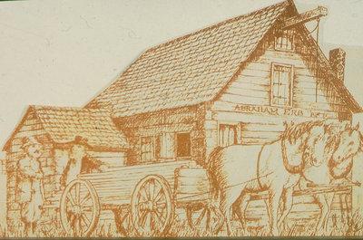 Abraham Erb's Grist Mill, Waterloo, Ontario