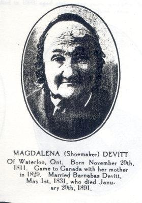 Magdalena Shoemaker Devitt
